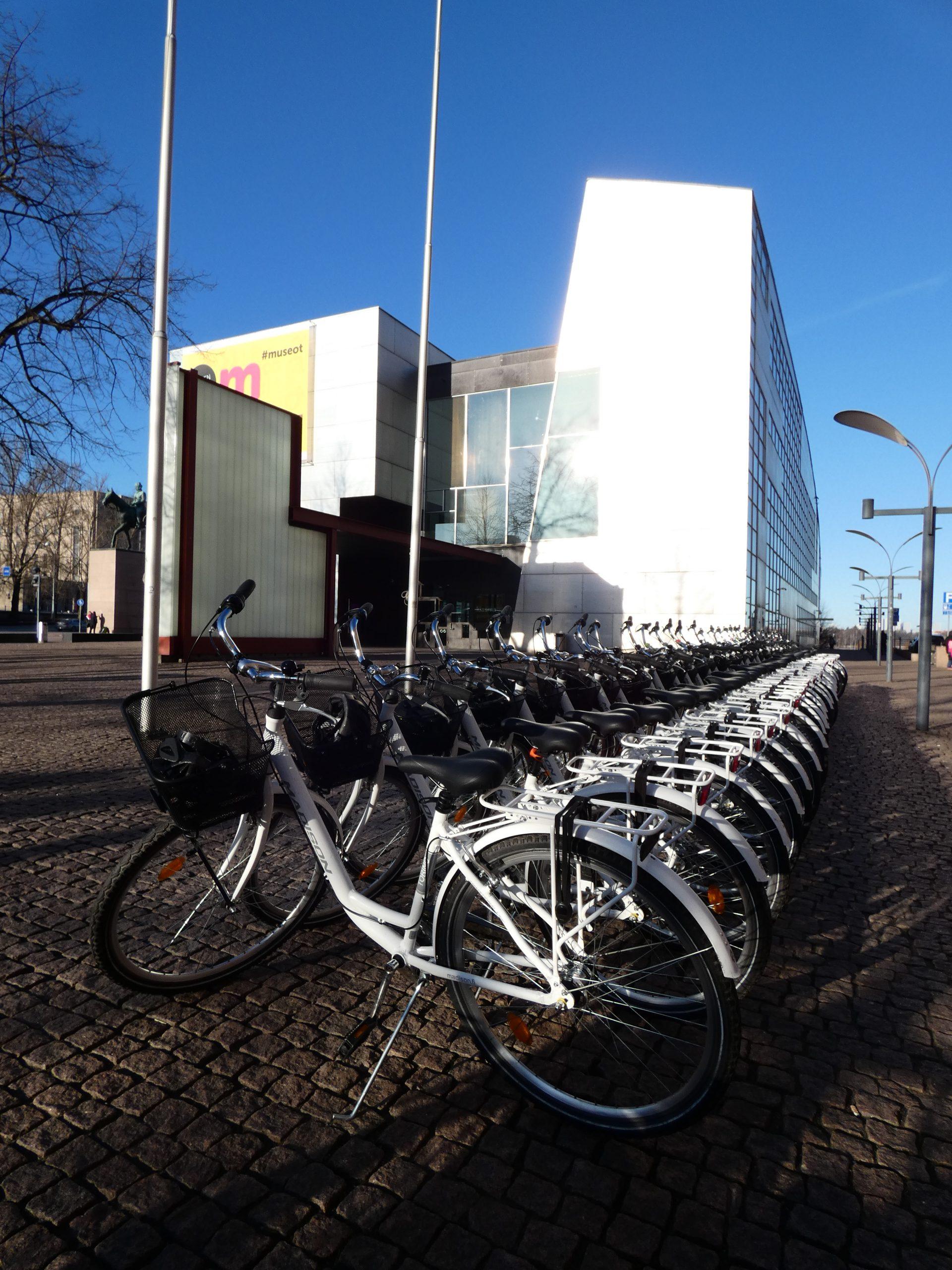 Bike rental service for groups.
